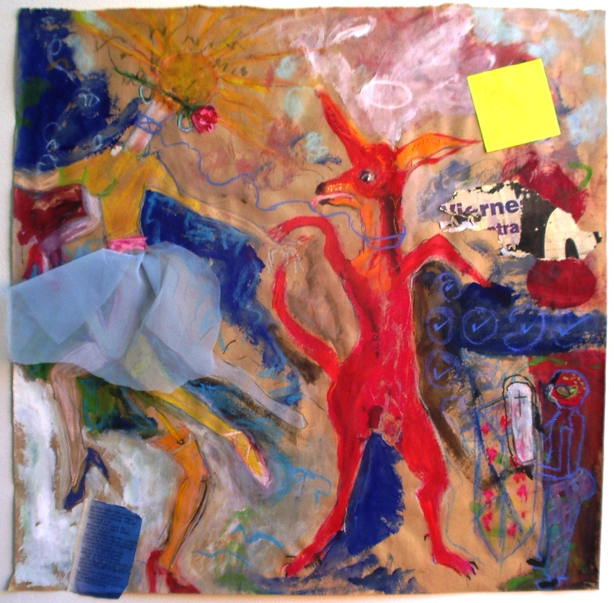 'Dancing with my dog' 2012 (large view)