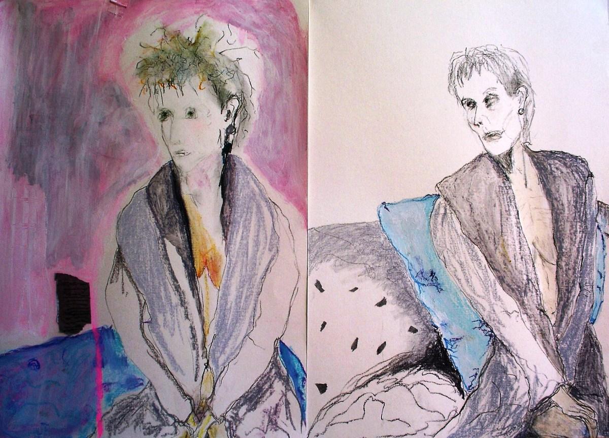'Self Portrait woman seeking purpose 2015 (large view)