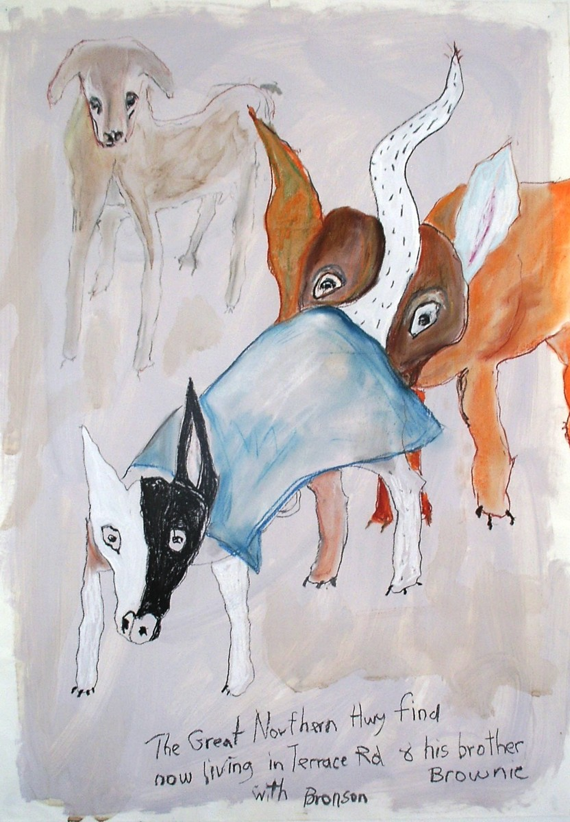 'Farewell dogs of Guildford' 2012 (large view)