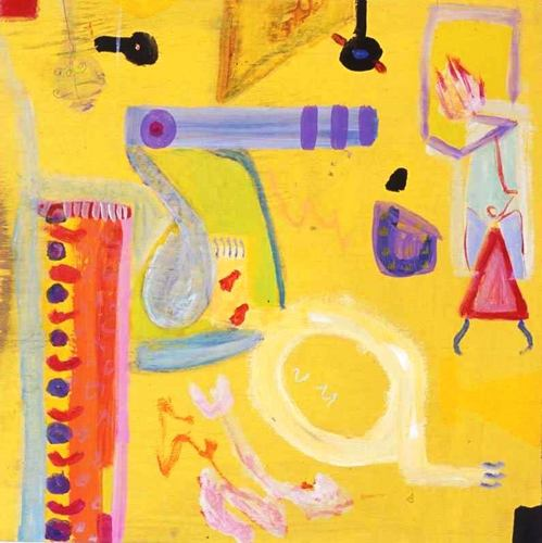 'Worms on Yellow' 2015 (large view)