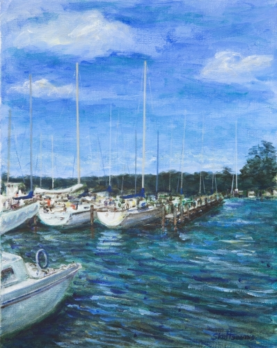 Harbor Scene II