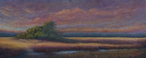 Fall Evening on the Marsh