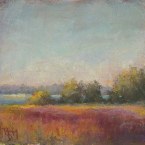 Splendor in the Marsh, Fall Plein Air