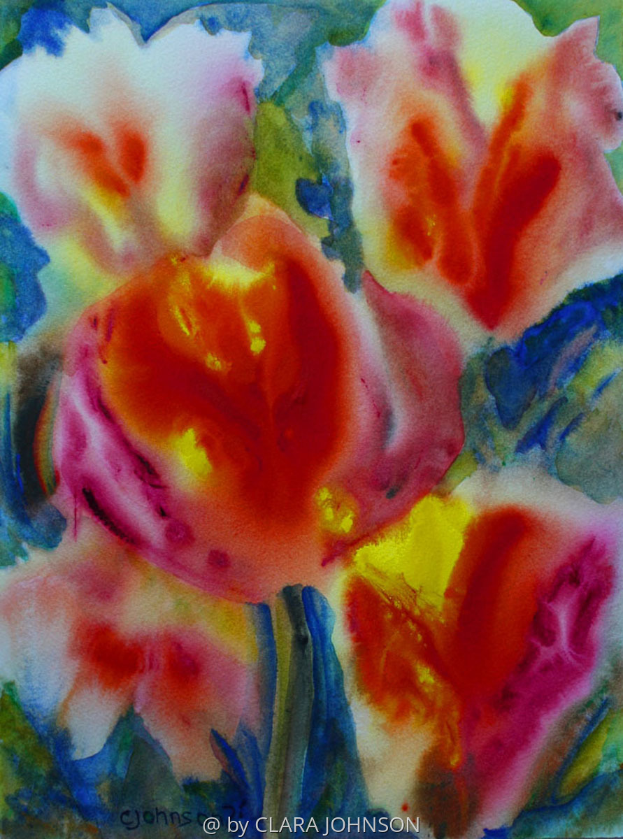 Tulip Tapestry (large view)