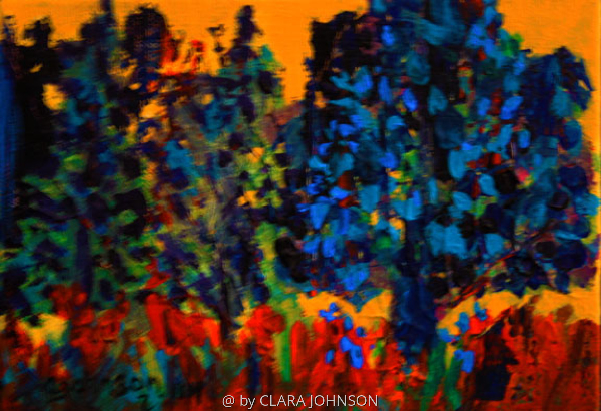 Trees Should be Blue (large view)