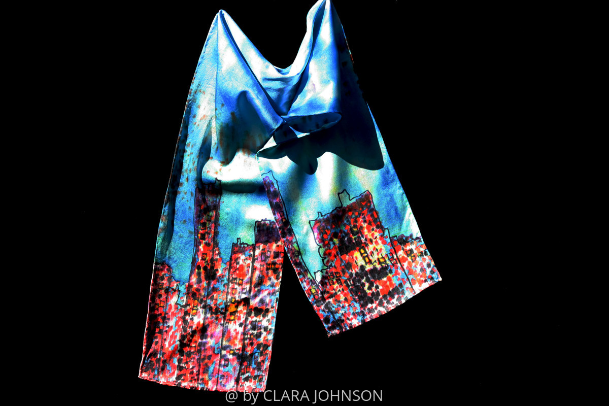 City Scape Wearable Art (large view)