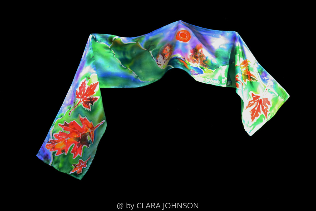 Changing Seasons Wearable Art (large view)