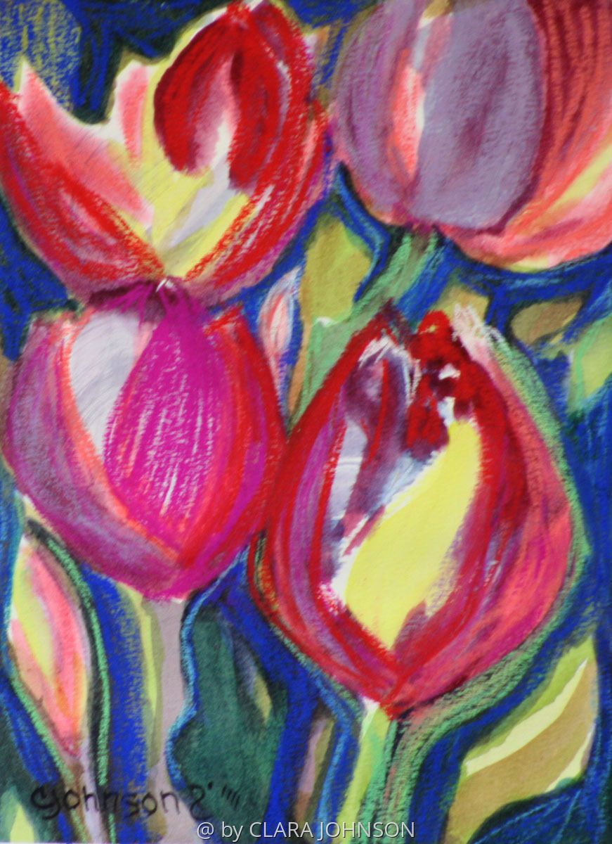 Dancing Tulips (large view)