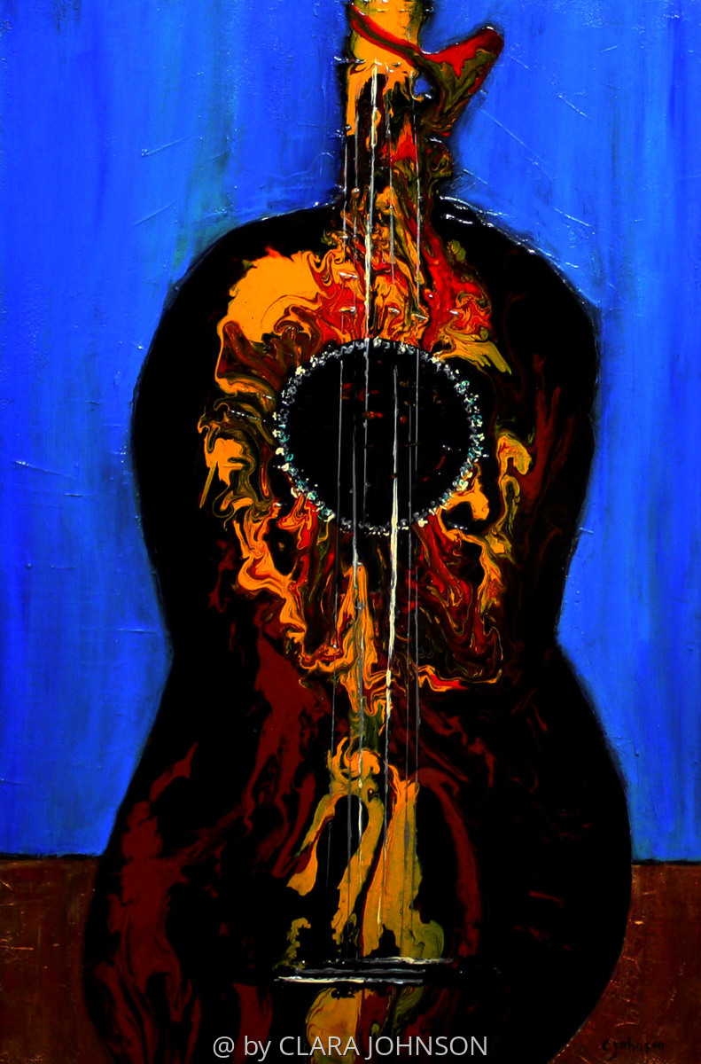 'Music in Madrid' Ocular Vibrations, The Spanish Guitar (large view)