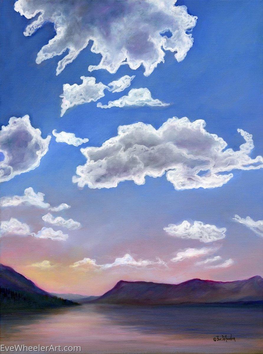 Lake McDonald Sky (large view)