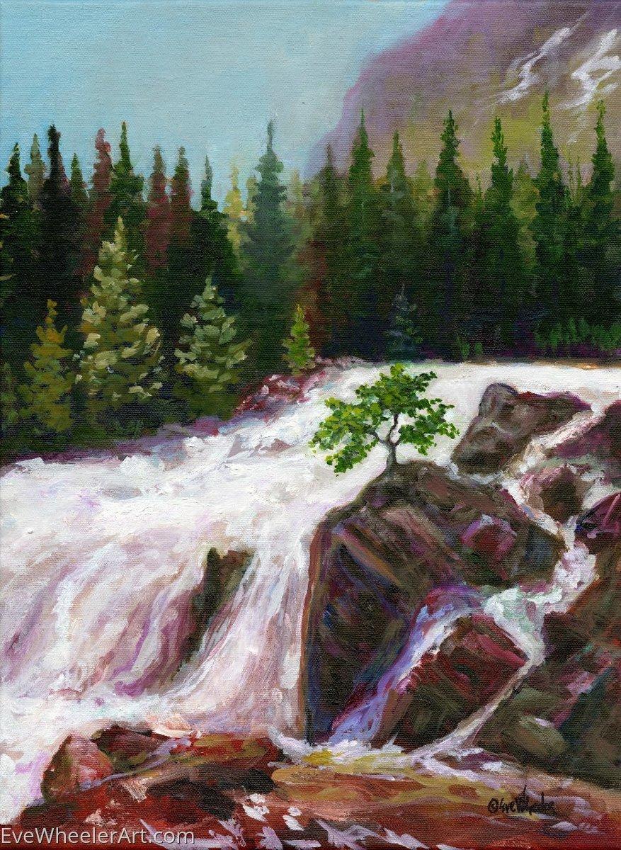Colorado Waterfall (large view)