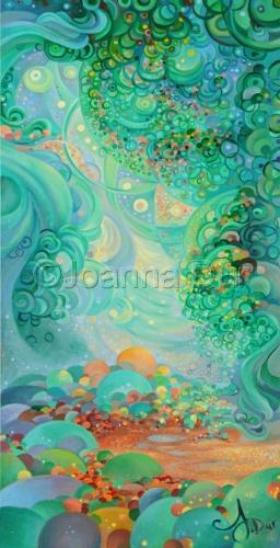 Circle Series IV by Joanna Dur