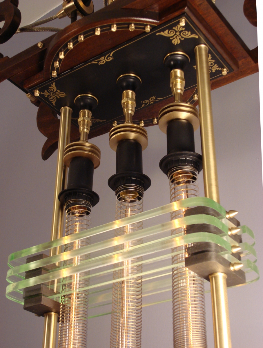 """Siddhartha Pod"" Steampunk Lantern (large view)"