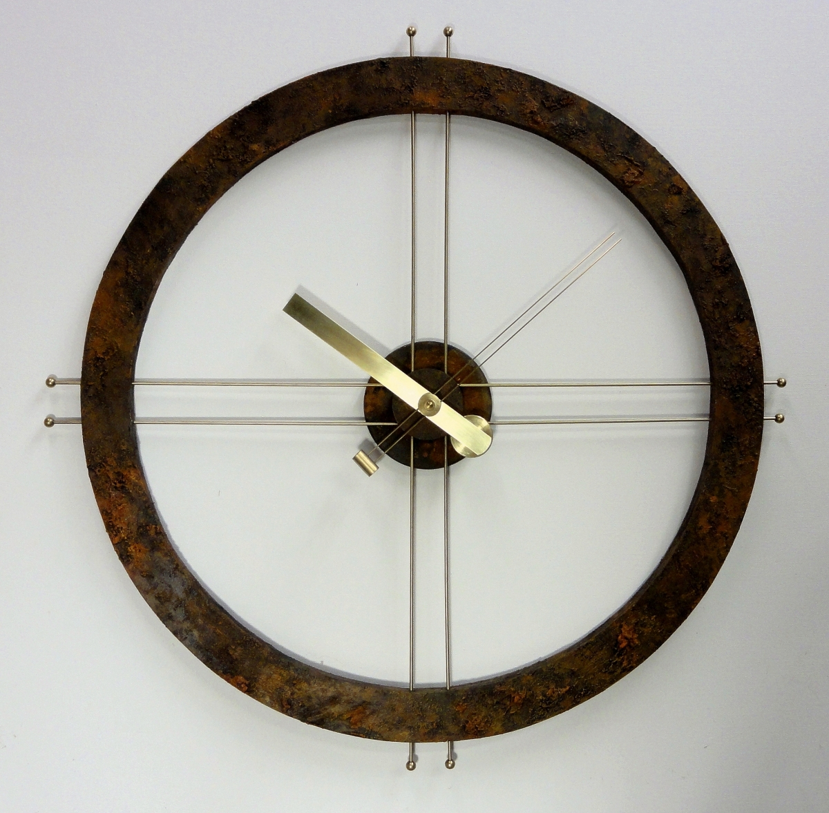 Steampunk Rust Clock by Art Donovan (large view)
