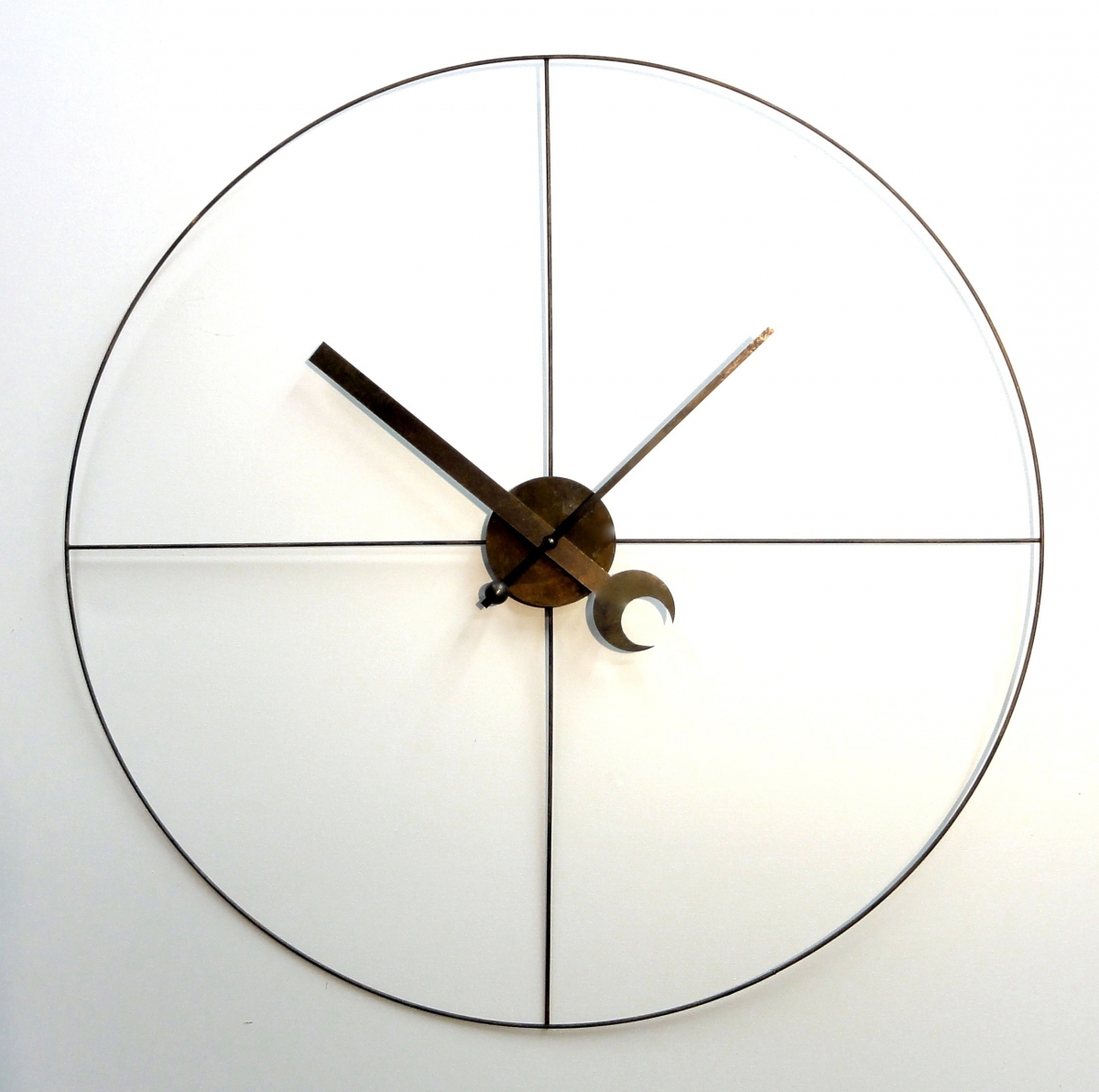 Steampunk Industrial Clock (minimalist) by Art Donovan (large view)