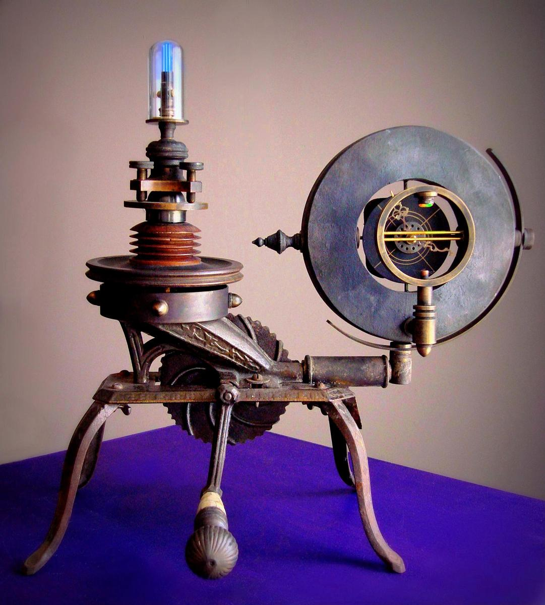 Steampunk Spectral Clock (large view)