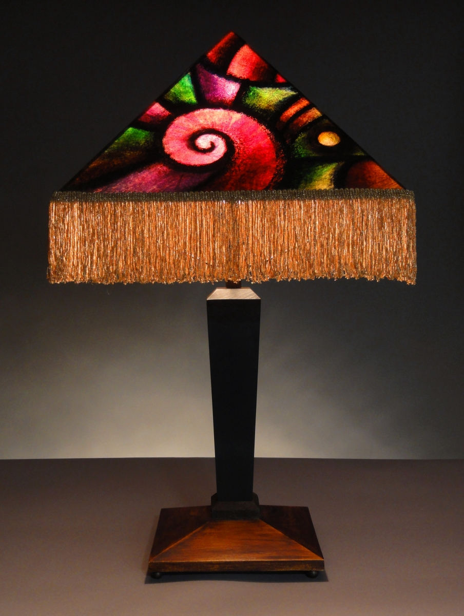 Geometric Deco Table Lamp (large view)