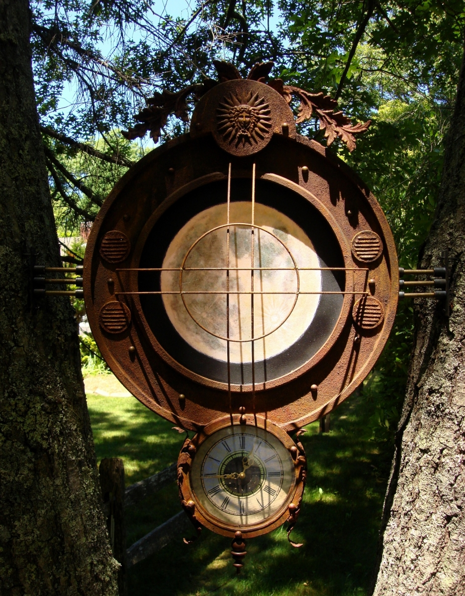 Illuminated Outdoor Mandala. (large view)