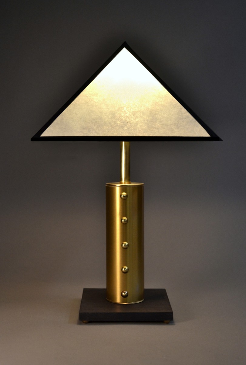 """petite deco""  Accent table lamp by Art Donovan (large view)"