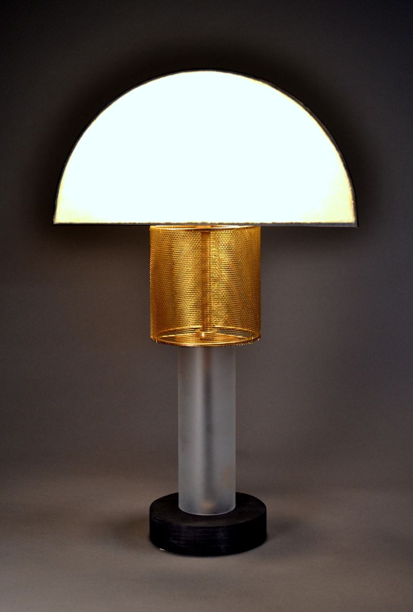 """petite arch""  Accent table lamp by Art Donovan (large view)"