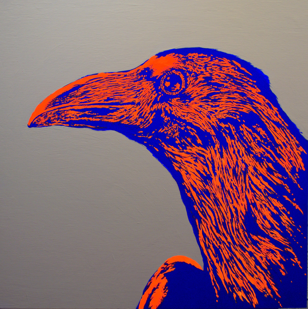 """St. Raven""  Series #1 from ""Two Over Two"" Collection (large view)"