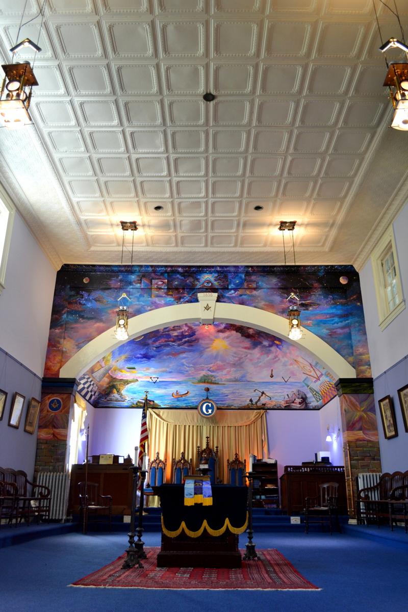 NEW: Historic Masonic Lodge Lighting (large view)