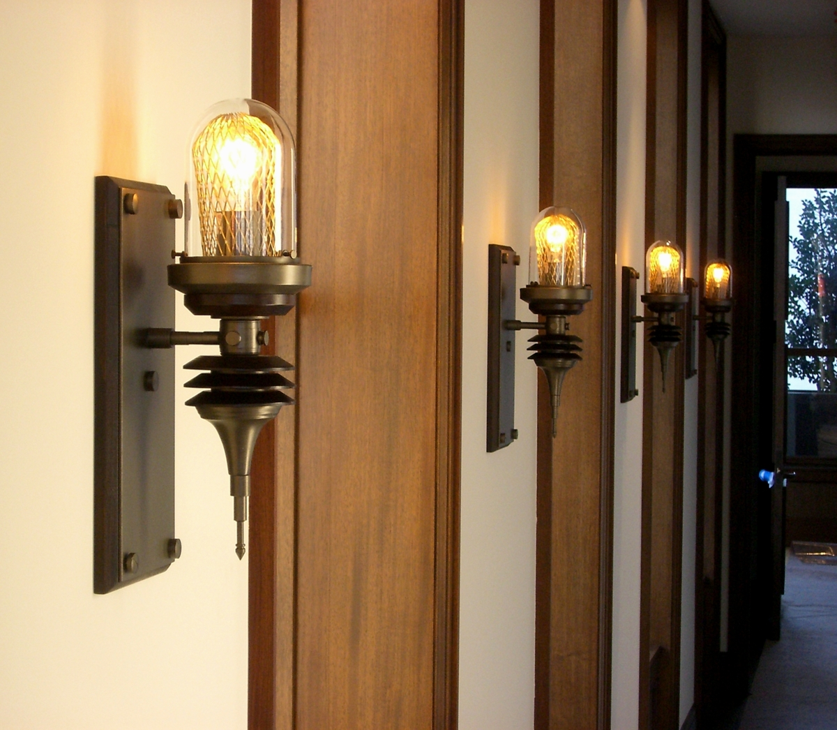 Parrish Carriage Wall Lamps (large view)