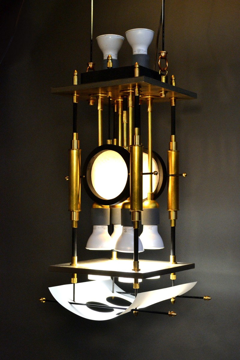 Industrial-Style Pendant Lamp (large view)