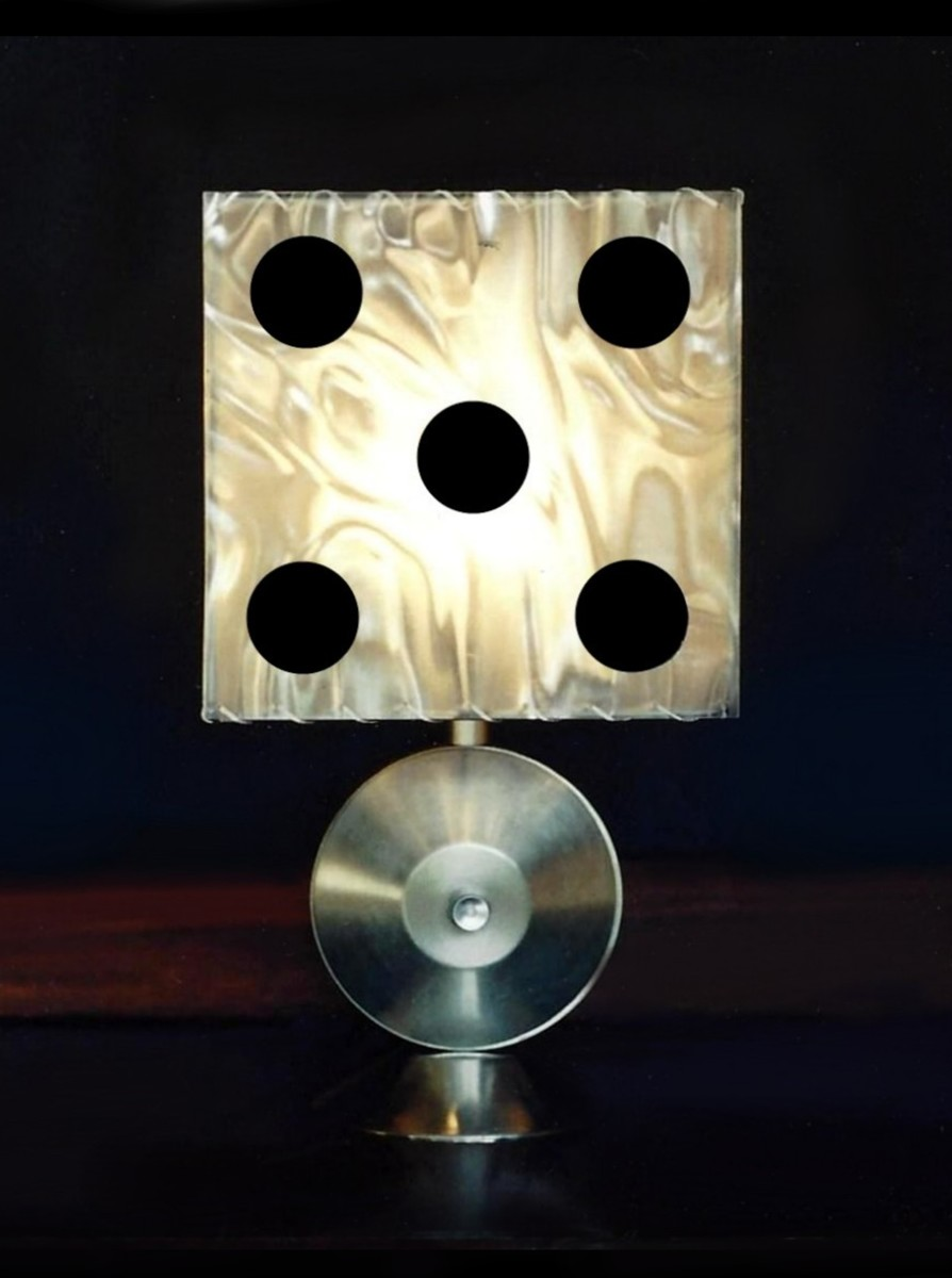 """Mr. Lucky"" table lamp (large view)"