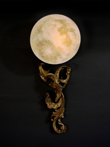 PAIR- La Luna Wall Lamps