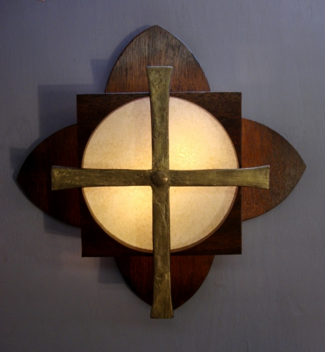 Liturgical Wall Lamp #1 (large view)