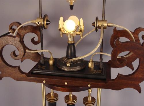 Siddhartha Pod- Steampunk Lantern