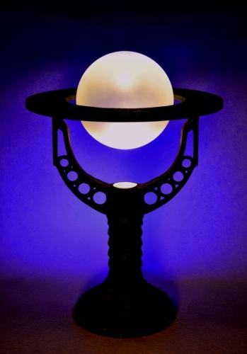 """Mephistopheles"" Steampunk Alchemist Lamp"