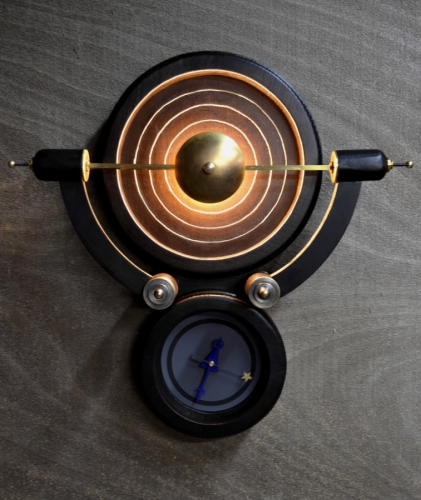 The Raj. Illuminated Wall Clock