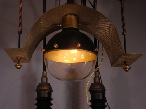Steampunk Weather Station