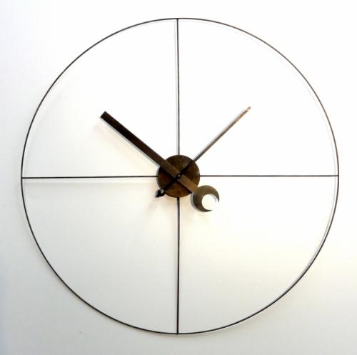 Steampunk Industrial Clock (minimalist)