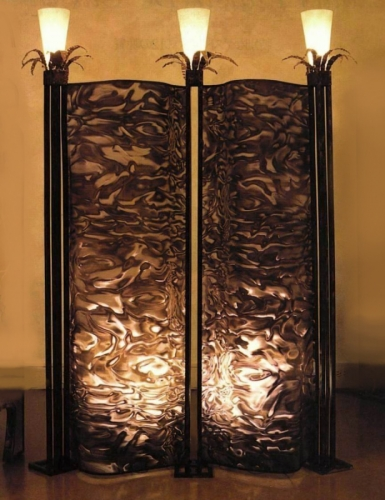 Custom Moire Screen with Lights by Art Donovan (large view)