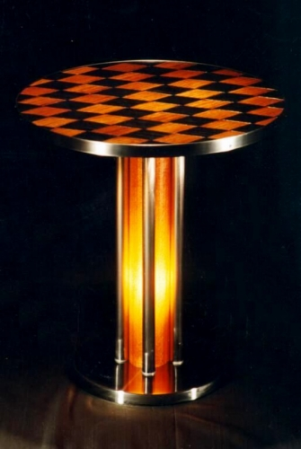 Marcantel Illuminated Cigar Table by Art Donovan (large view)