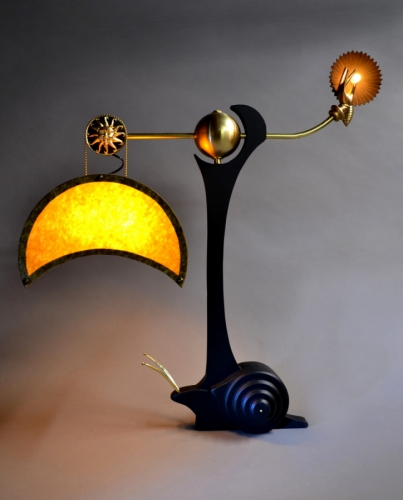 Escargo Table Lamp by Art Donovan