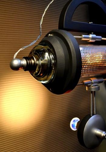 Teslagraaf #1. Steampunk Pendant Lamp