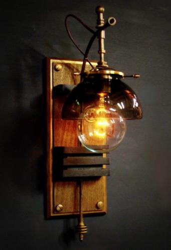 'Oxford Station' Hemishpere Lamp (large view)