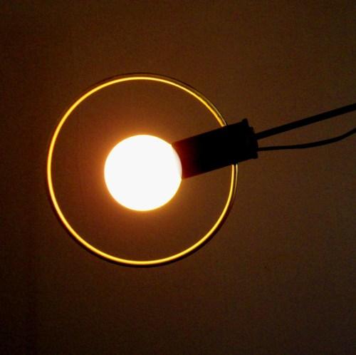 """Sun + Moon table lamp"