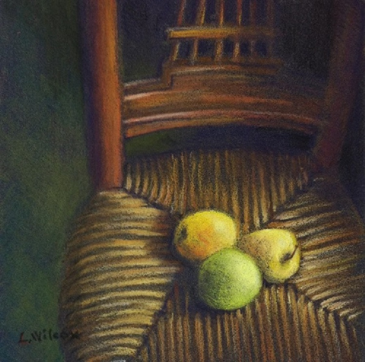 CEZANNE'S CHAIR #4 (large view)