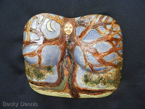Tree Goddess Breast Plate