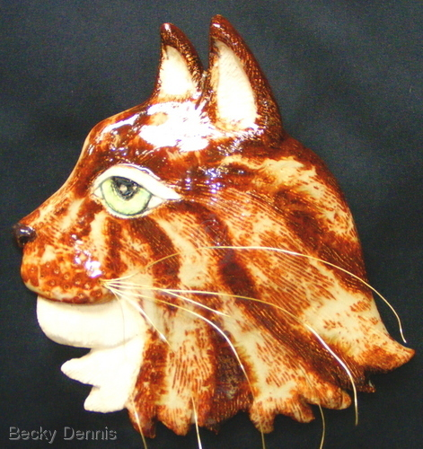 Golden Cat Mask
