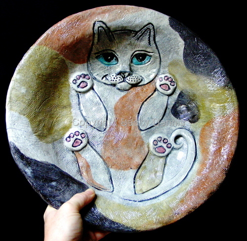 Fat Cat Bowl # 3 Calico