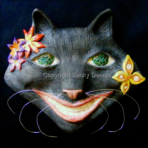Blissed Out Cat! by Becky Dennis