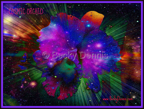 Cosmic Orchid 2