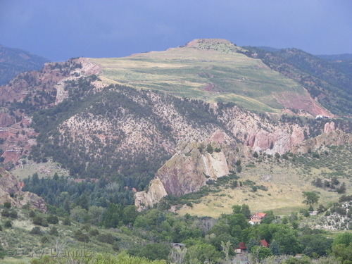 View from the Garden of the Gods.