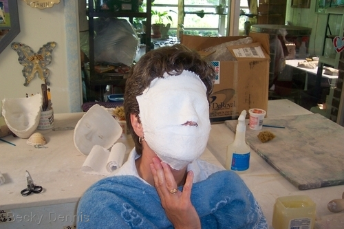 Mask-making playshop